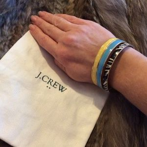 J.Crew Set of 3 Bangle Bracelets